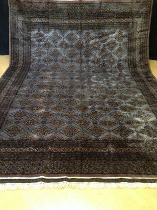 Wunderschöner Echter Perser Buchara Wie Seide Teppich Orientteppich 315 X 217 Bild