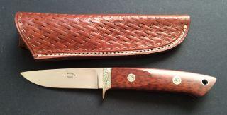 J.  Mengele Blaustein Messer Mit Verzierung Von Ca.  1970/80 Bild