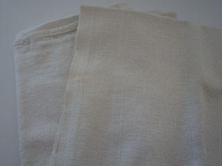 6 Handtücher,  Vintage,  40er / 50er Jahre,  Pflanzen Muster,  100 X 45 Cm Baumwolle Bild