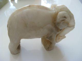 Onyxelefant Antik Elefant Aus Onyx - Marmor Edelstein Onyx Figur Tier Elefanten Bild