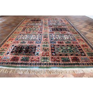 Schöner Gewebter Orient Teppich Felder Nain Carpet Tappeto Tapis Rug 200x300cm Bild
