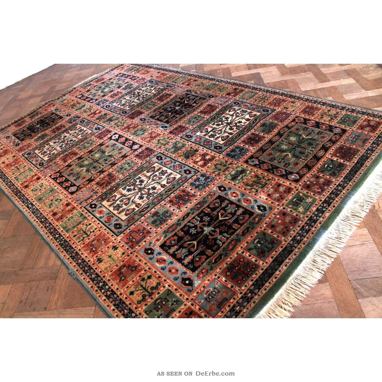 sch ner gewebter orient teppich felder nain carpet tappeto. Black Bedroom Furniture Sets. Home Design Ideas