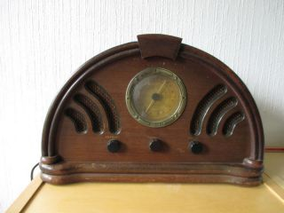 Radio 1934 Bauhaus Nostalgie,  Funktioniert Bild