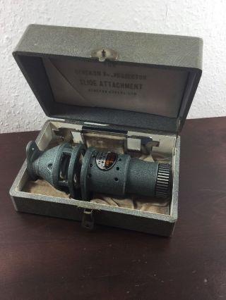 Slide Attachment For Cinekon 8mm Projektor Bild
