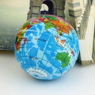 1 Stück Erde Weltkugel Globus Weltkarte Weicher Entspannung Schaumstoffball Bild