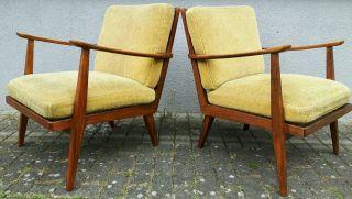 50er Jahre Knoll Antimott Sessel Easy Armchairs Mid Century Danish Design Bild