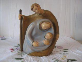 Die Heilige Famielie - Holzfigur Handgeschnitzt Bild