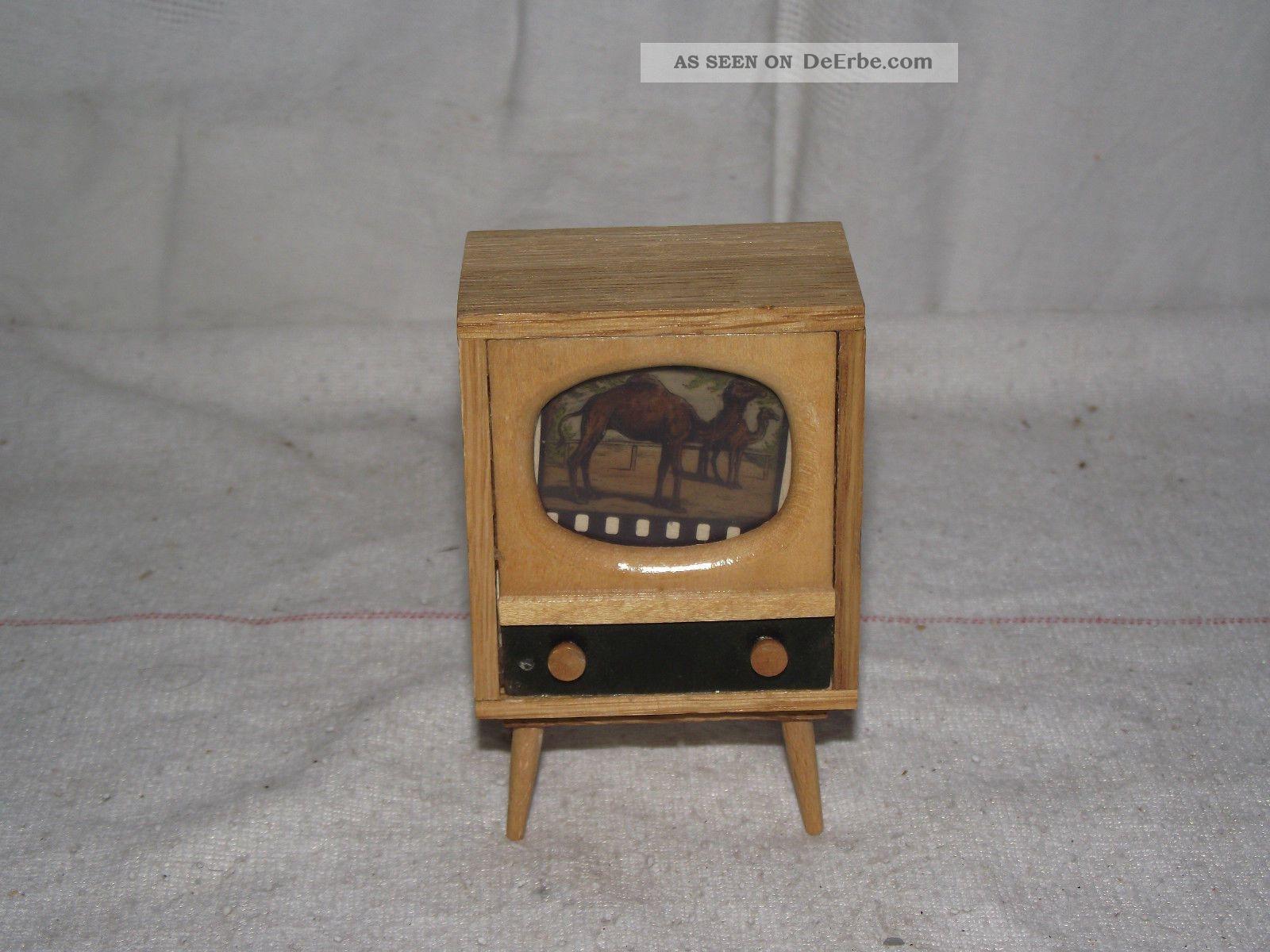 50er 60er Jahre Ddr Fernseher Fur Puppenstube Rockabilly