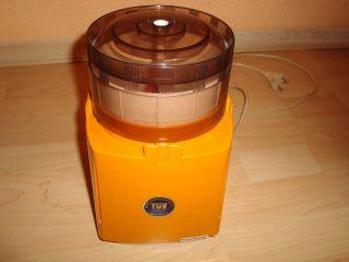 Moulinex - Type: M E 2 B - 800 Watt - Zerkleinerer - Küchengerät - Orange°°°°°°° Bild