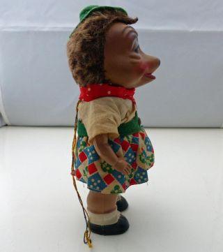 Sehr Alte Mucki Figur (mecki) Igel Puppe Zelluloid,  Stehend Bild