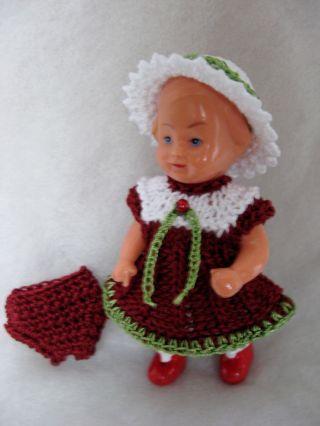 Puppenstube - Puppenkleidung Für Ein 7,  5 Cm Großes Ed I - Püppchen Bild