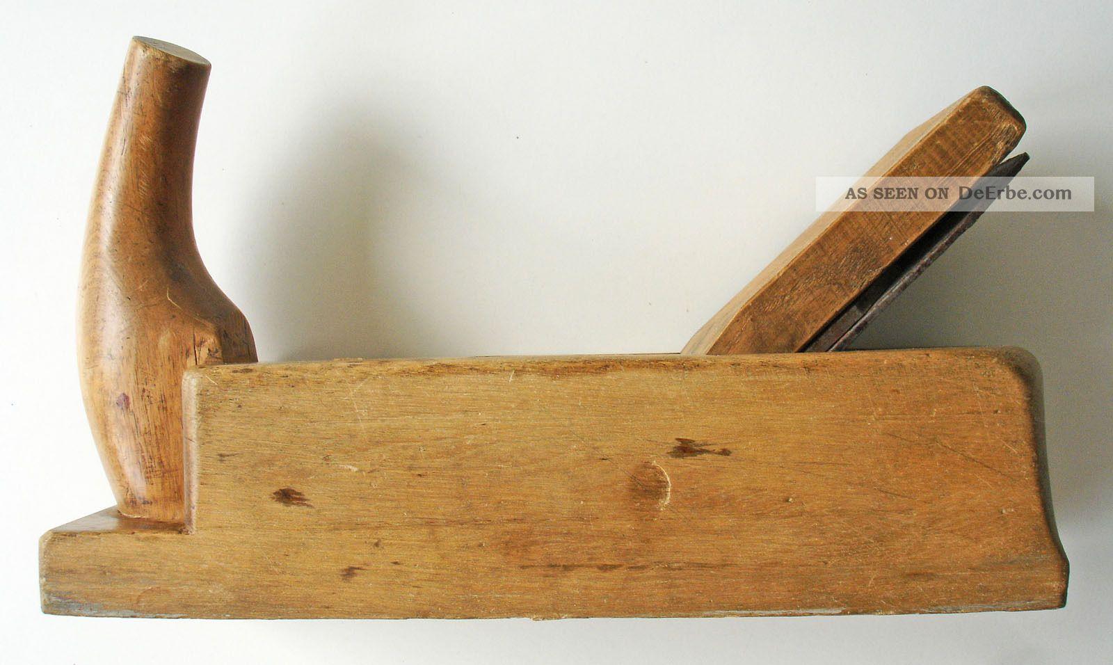 nr. 1 alter hobel 50 mm tischlerhobel handhobel holz zimmermann