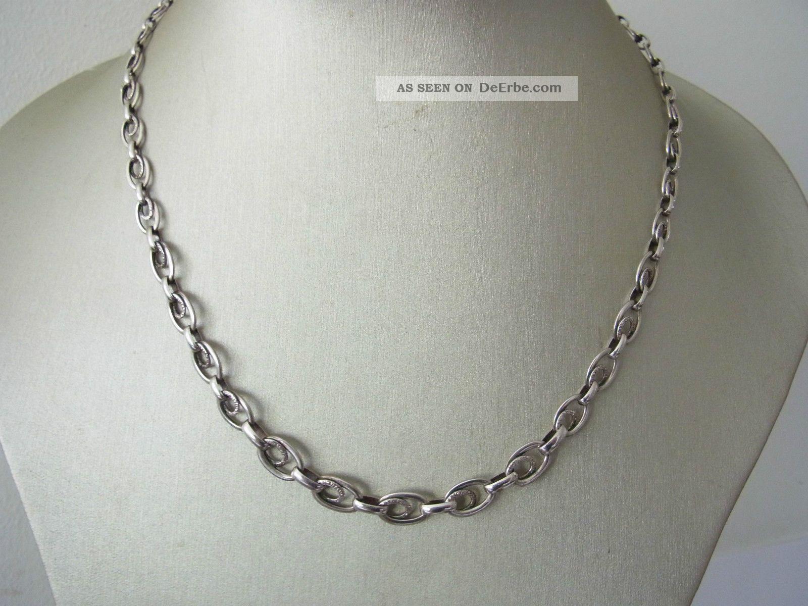 Zeittypisches Art Deco Collier Silber 835 Ln Marke Schmuck nach Epochen Bild