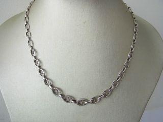 Zeittypisches Art Deco Collier Silber 835 Ln Marke Bild