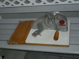 Brot Schneidemaschine Schal Assofix Qualität Luxus Bild