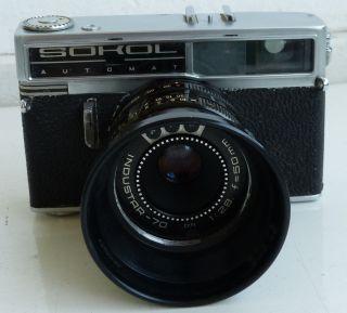 ,  Alte Kamera Udssr Omo Sokol Automat, Bild