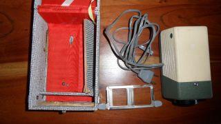 Vintage Diaprojektor Erno Cabin 5x5 In Orig.  Box Bild