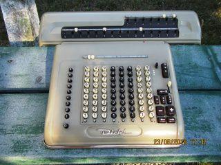 Diehl Evm15 Mechanische Rechenmaschine Vierspezies Sondermodell 1958 Bild