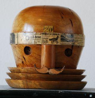 Dada Holzskulptur,  Raritat,  Bauhaus? Bild