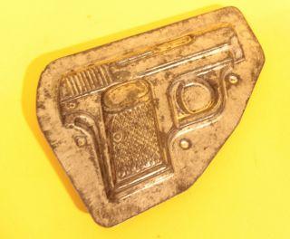 Pistole Doppelseitige Schokoladenform No.  4455 Bild