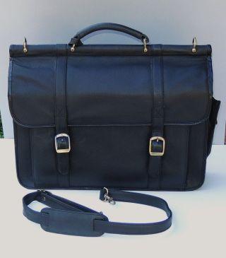 Aktentasche,  Lehrertasche,  Schultasche,  Allzwecktasche,  Schwarz Bild