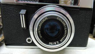 Fotoapparat Voigtländer Vitoret Dr,  Objektiv Color - Lanthar 2.  8/50 (3) Bild