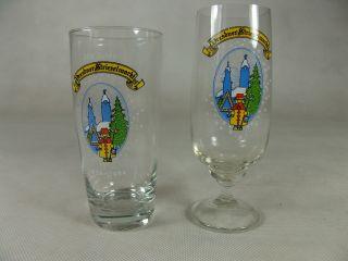 Dresdner Striezelmarkt 1984 Andenkenglas Glas Bierglas Bild
