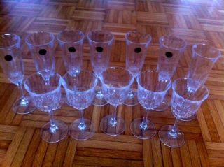 Bleikristall - Gläser Sektgläser Weingläser Bild