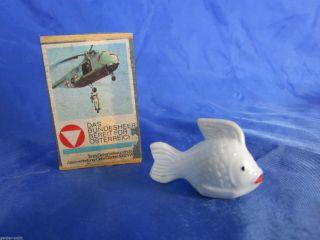 Mini Badetier Fisch Kugelfisch Sanitär Bad Puppe Puppenstube Puppenhaus Bild