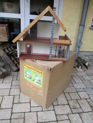 Altes Ddr Vero Albin Schönherr Puppenhaus Mit Ovp Bild