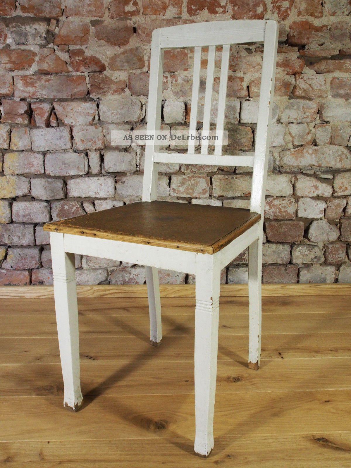 alter stuhl jugendstil um 1900 landhausstiel vintage shabby chic. Black Bedroom Furniture Sets. Home Design Ideas