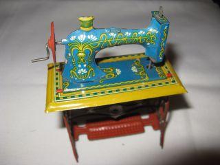 Nostalgie Nähmaschine Für Puppenhaus,  Puppenstube Bild
