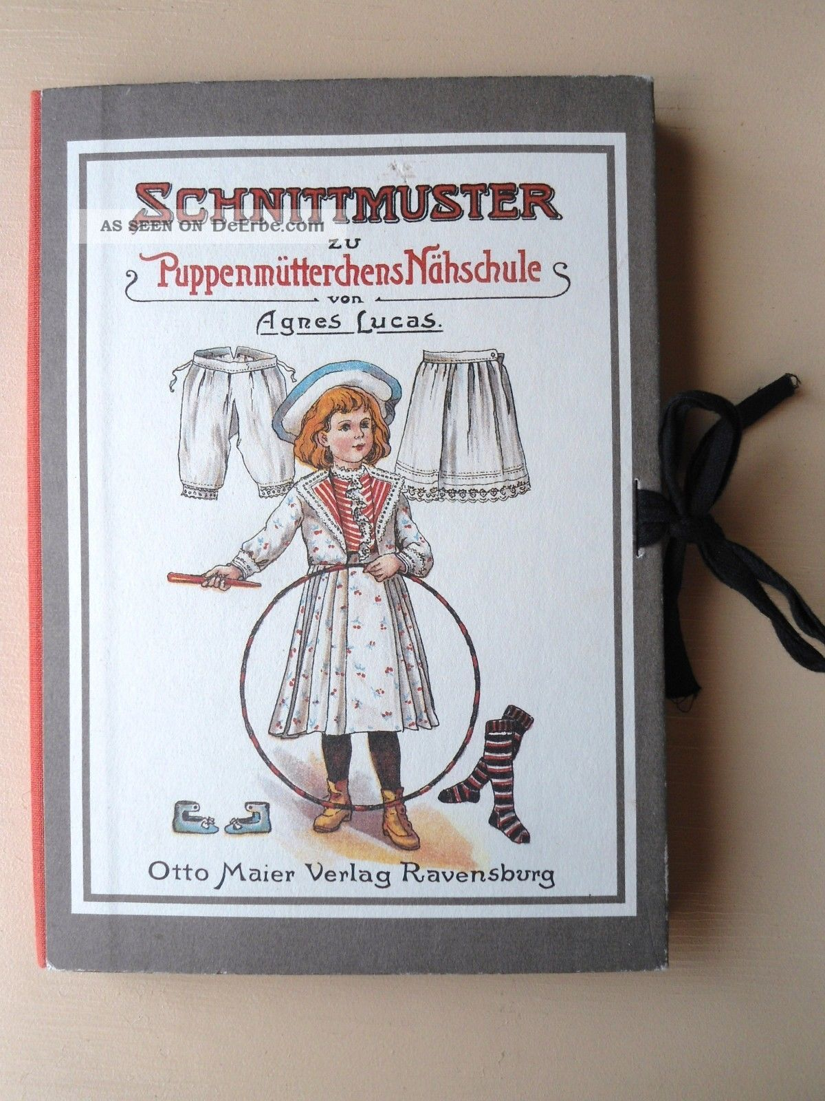 Schnittmuster Zu Puppenmütterchens Nähschule 7 Schnittmuster, Anl ...