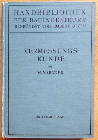 Vermessungskunde - Martin Näbauer - 1949 Bild