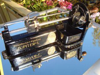Jupiter 1 Bleistiftschärfmaschine Von Guhl & Harbeck Old German Pencil Sharpener Bild