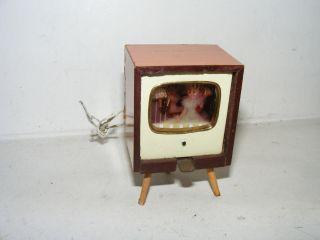 Alter Fernseher - 50er Jahre - Kaufladen - Puppenhaus - Puppenstube - 1:12 - Für Bastler Bild