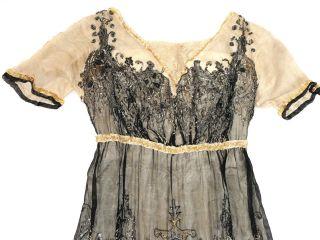 Modesalon Gebr.  Faerber ° Antikes Luxus - Kleid · Königsberg · Preußen · 1900 - 1920 Bild