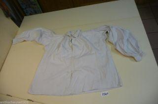 7340.  Alte Leinen Trachtenbluse Bluse Hemd Bild