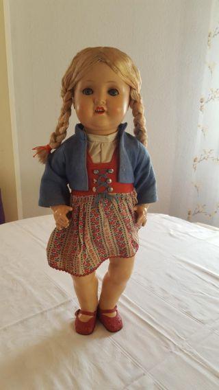 Armand Marseille Puppe 2966,  52cm,  Schlafaugen,  Stimme Bild