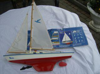 Vintage Günther Segelschiff / Segelyacht - Holz Modell Condor 1970er Bild