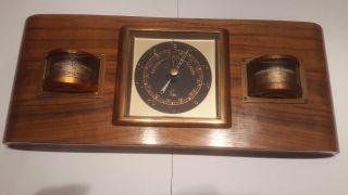 Antike Wetterstadion Lufft Barometer Thermometer Hygrometer Bild