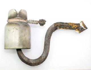 Alter Antiker Keramik Porzellan Stromisolator Weiß Loft Art Deko Objekt Elektrik Bild