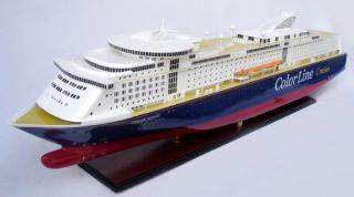 Handgefertigtes Schiffsmodell Color Magic,  L115 Cm,  Holz Modell,  Modellschiff Bild