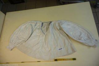 9324.  Altes Leinen Hemd Bluse Trachten Bild