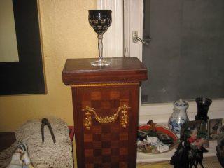 Karl Rotter Wein Glas Sehr Selten Bild