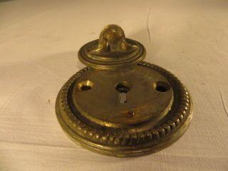 Türklinken,  Türschlossgarnitur Biedermeier Bronze - Messing Bild