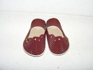 Alte Schuhe - Puppe Gr.  Ca 34 - 35 - Braun Bild