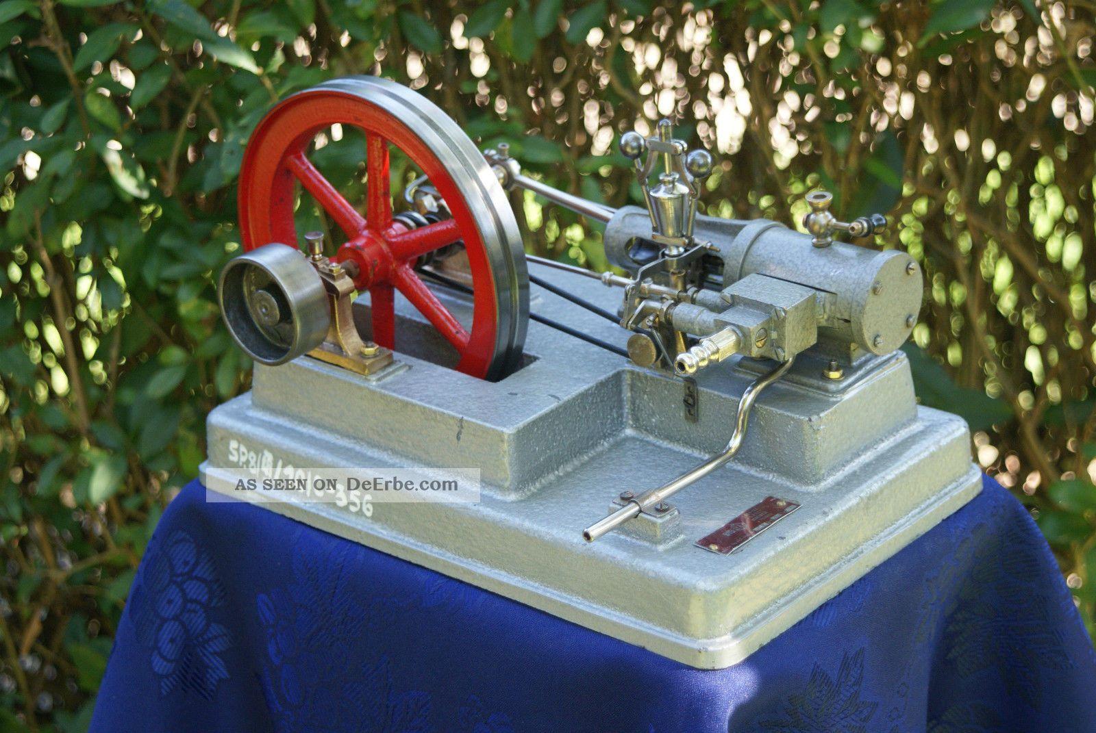 Dampfmaschine,  Educational Steam Engine 1972,  Watt Regulator,  Loft,  Industrial Gefertigt vor 1945 Bild