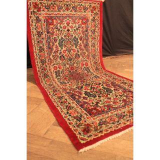 Königlich Feiner Handgeknüpft Orient Perser Nain Kum Teppich Laver Tapi 150x70cm Bild