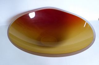 Schale Murano Glass Salviati Venezia 2004 Frammenti Piatto Marco Zito Bild